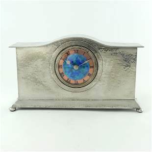 Liberty and Co., an Arts and Crafts Tudric pewter and