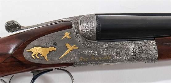 Exquisite Francotte Deluxe 28ga SxS Shotgun