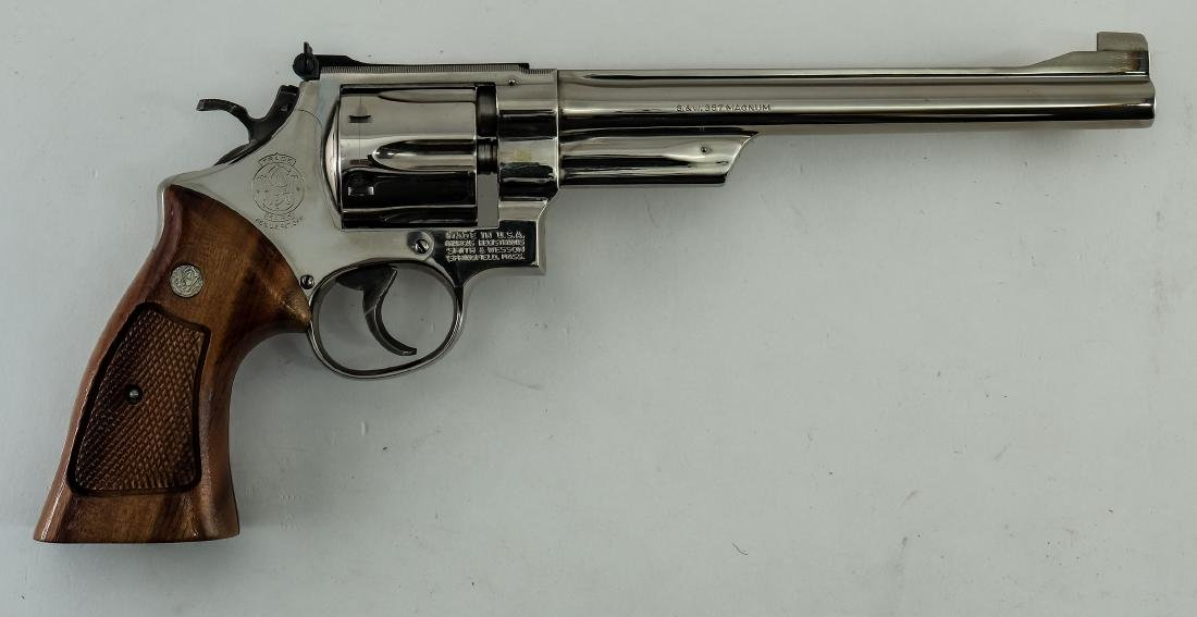 Smith & Wesson Model 27-2 .357 Revolver - 3