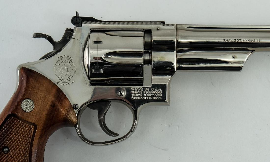 Smith & Wesson Model 27-2 .357 Revolver - 4