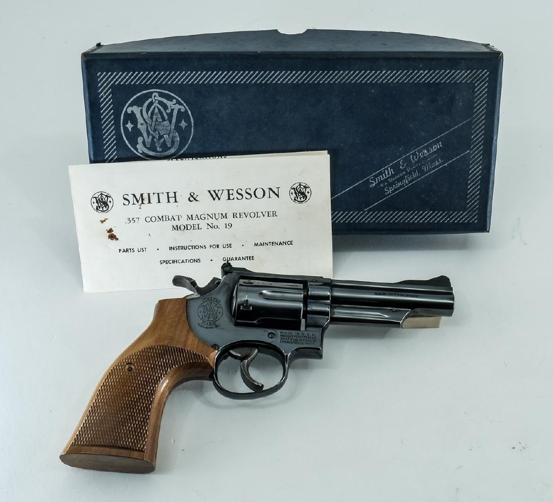 S&W 19-3 .357 Combat Magnum Revolver