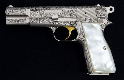 Browning Hi Power Renaissance Pistol