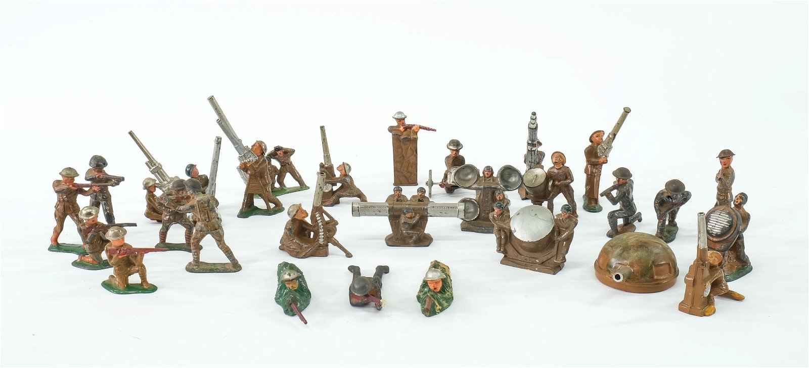 Dimestore WWI Toy Soldiers