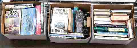 80 Estate books Military and Navy