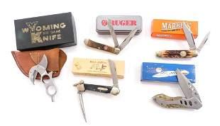 Folding Knife Lot (5Pcs) Pocket Knives