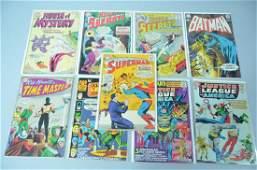 9pc Silver & Bronze Age DC Comic Lot