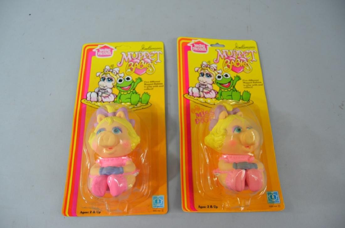 2pc Vtg Muppet Babies Vinyl Miss Piggy NIP - Feb 19, 2019