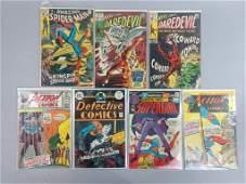 7pc Bronze Age Marvel & DC Comics