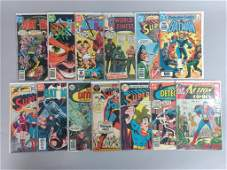 13pc Bronze Age DC Comics w/ Detective