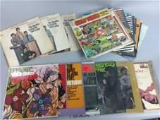 Mixed Vtg 33rpm Record Lot w/ Beatles, Dave Clark