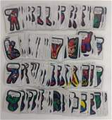 1974-75 Topps Marvel Comic Book Heroes Stickers