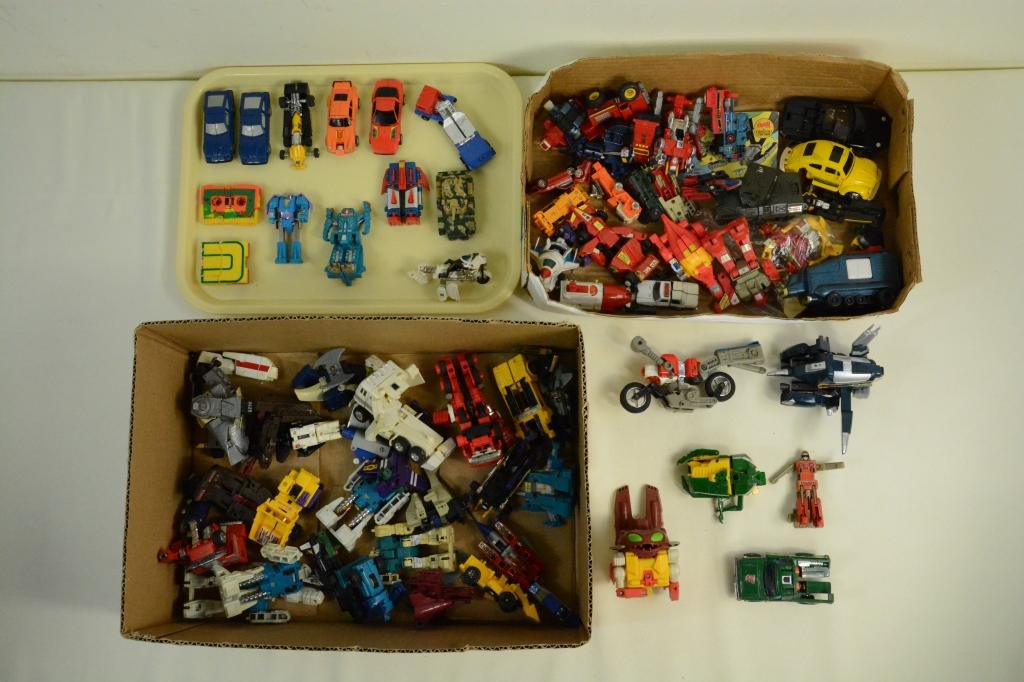 Vtg GoBots Lot w/ Transformers & Robot PARTS