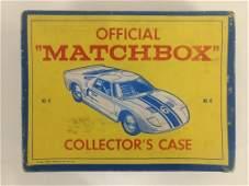 Vtg Matchbox Case w/ Tootsietoy, Hotwheels