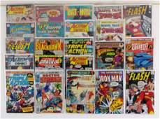 22pc Silver & Bronze Age Marvel & DC Comics