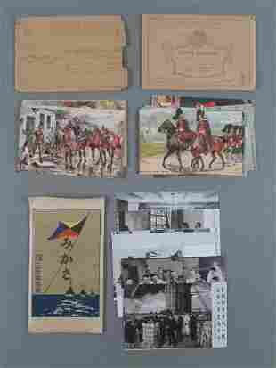 Vtg 1930's Foreign Military Postcard Lot