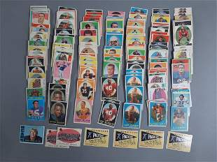 238pc 1950-70's Topps Football Card Lot