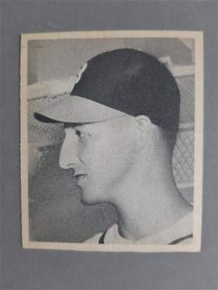 1948 Bowman Warren Spahn Rookie Baseball Card
