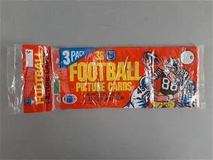 Vtg 1980 Topps Football Cards Grocery Pack