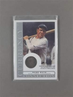 Babe Ruth Topps Gallery Baseball Card