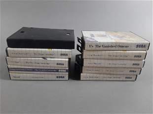 10pc Sega Master System Game Lot CIB