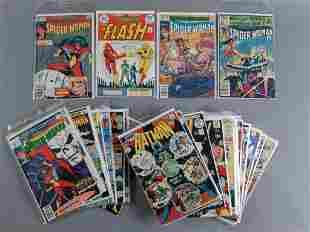 29pc Bronze Age Marvel & DC Comics w/ Flash