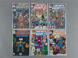 1991 Marvel Infinity Gauntlet #1-6 Comic SET