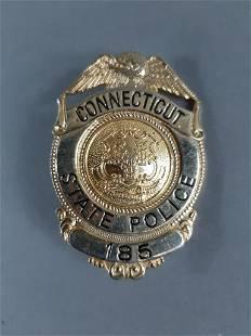 Vtg Conneticut State Police Badge
