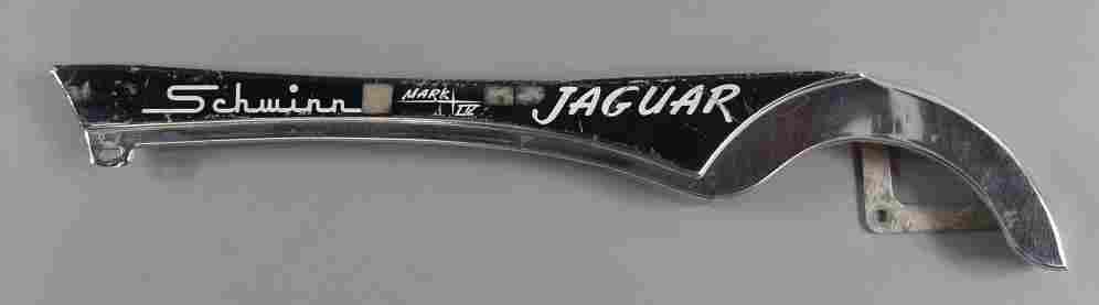 Vtg Schwinn Jaguar Bicycle Chain Guard