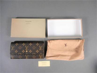 Vintage Louis Vuitton Long Wallet