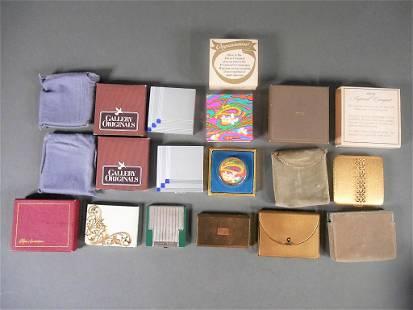 Vintage Ladies Compacts Lot
