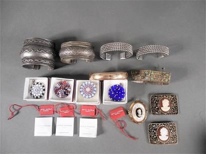 13pc Vintage Ladies Jewelry Lot