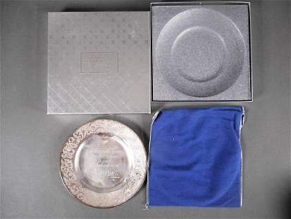 Avon Sterling Silver Plate