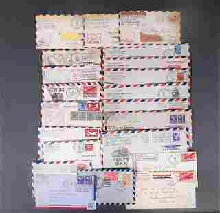 22pc US Army/Navy Covers Lot