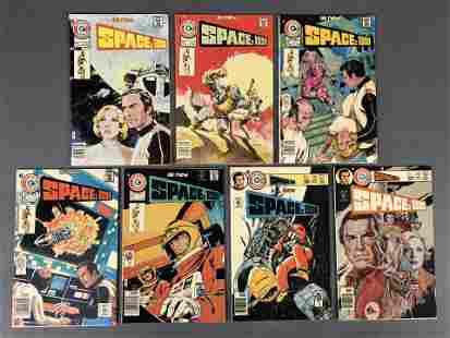 Space: 1999 Bronze Age Comic Book Run # 1-7