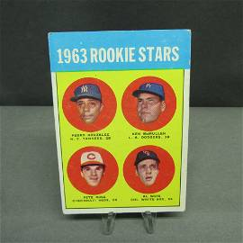 1963 Topps #537 Pete Rose RC