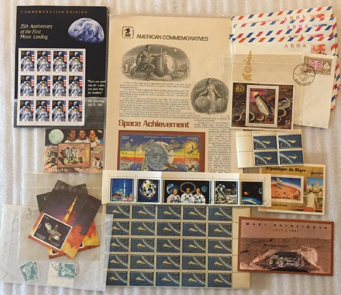 Collection of Space Stamps