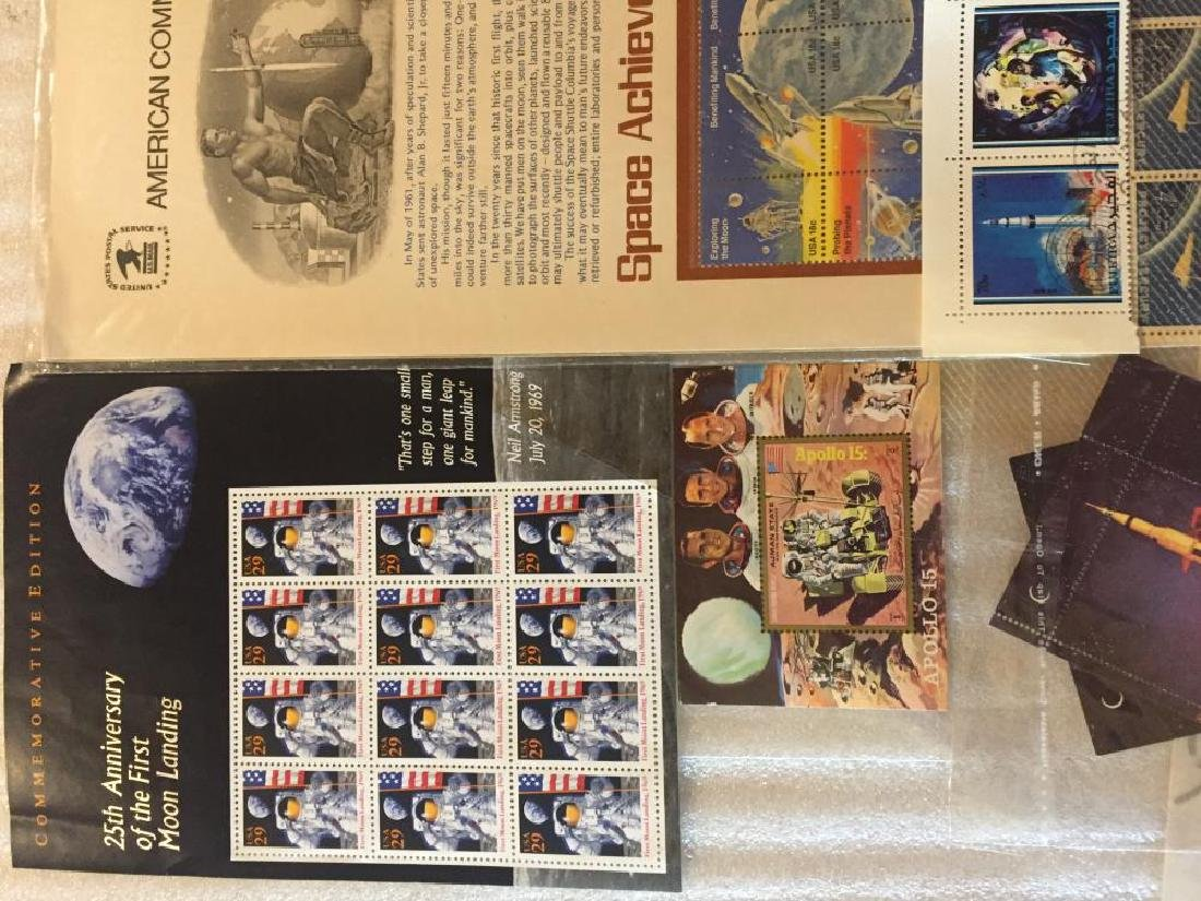 Collection of Space Stamps - 2