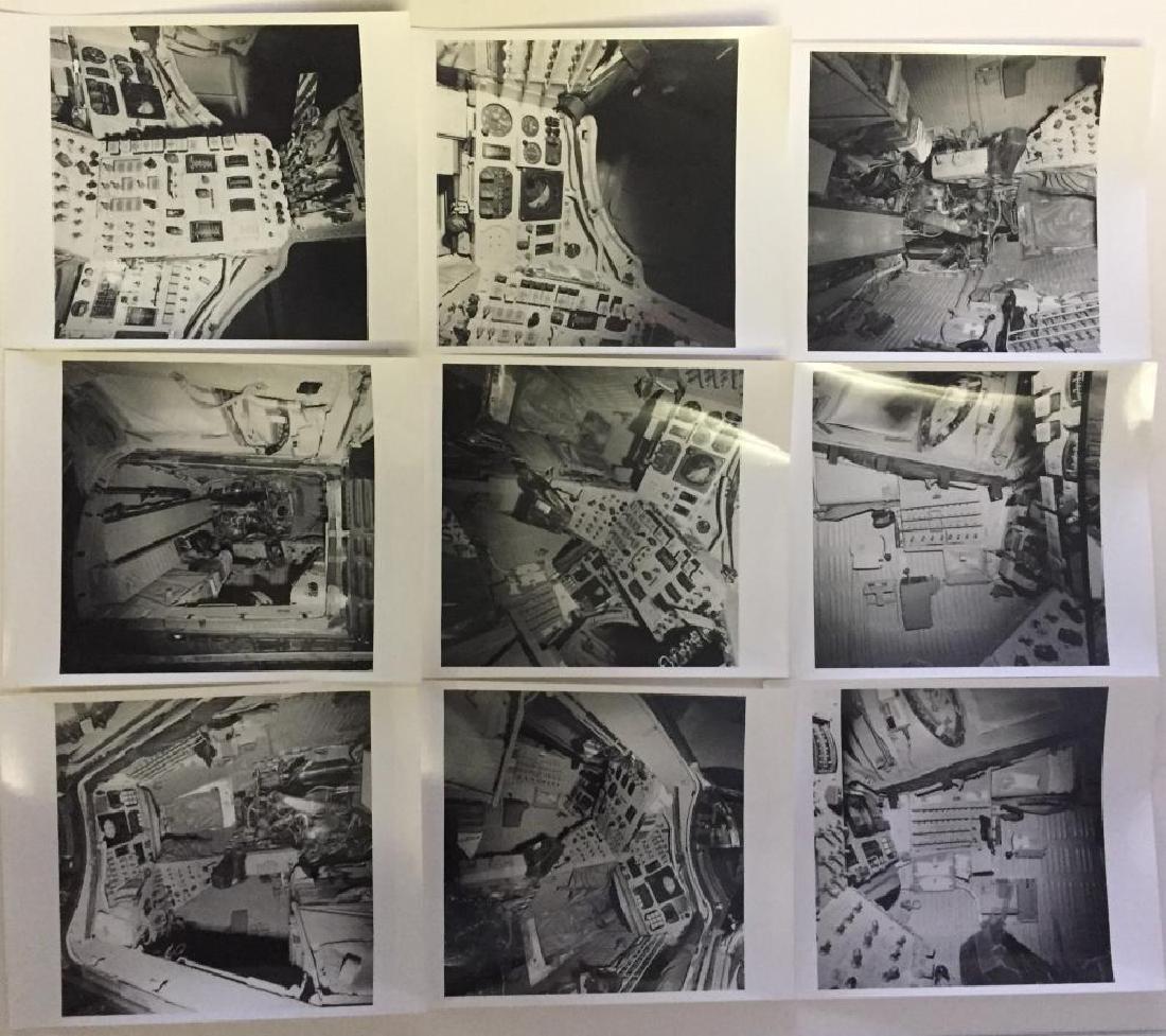 9 detailed Gemini Spacecraft interior photographs