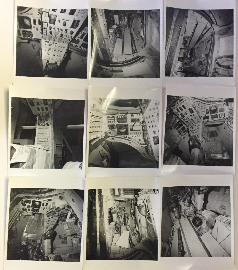 Detailed Gemini Spacecraft interior photographs.