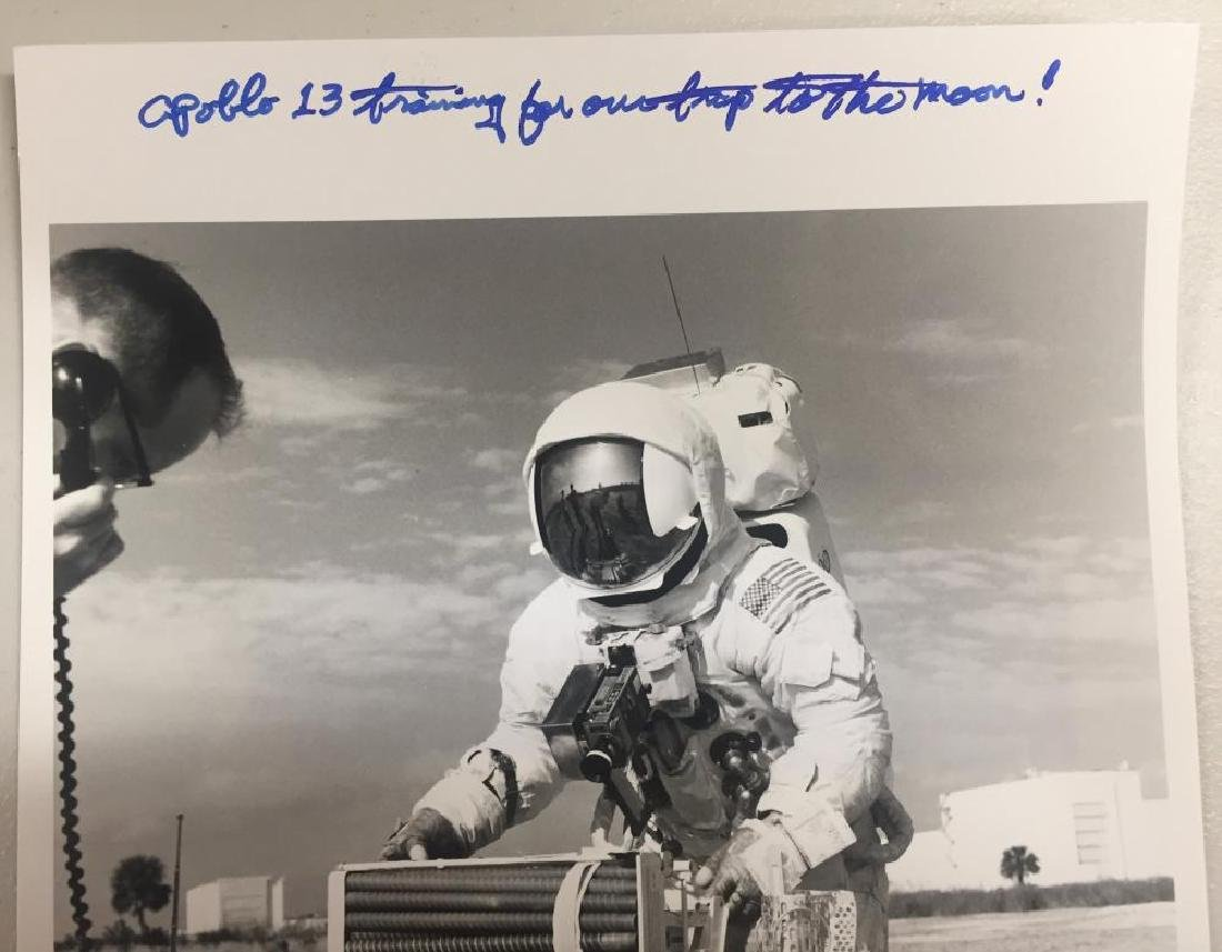 Fred Haise Signed Photograph - 2