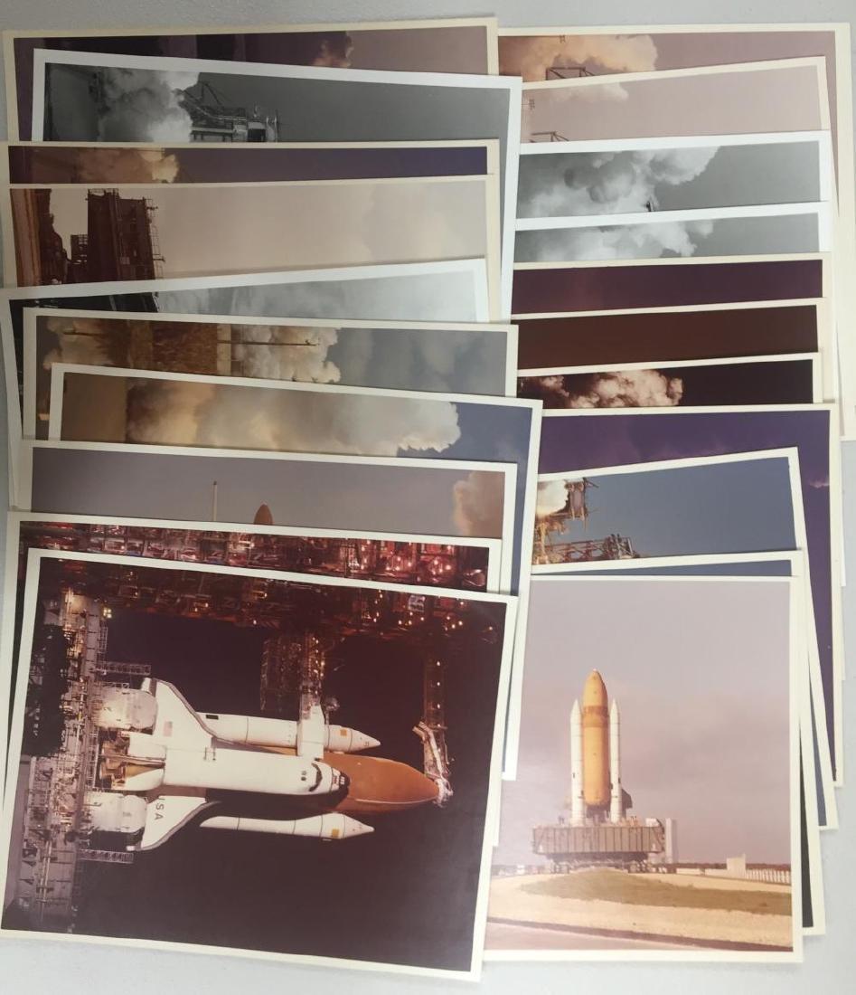 20 Original NASA Early Shuttle Photographs