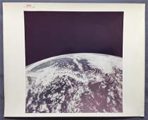 Apollo 10 Earth Orbit Photograph Red Numbered
