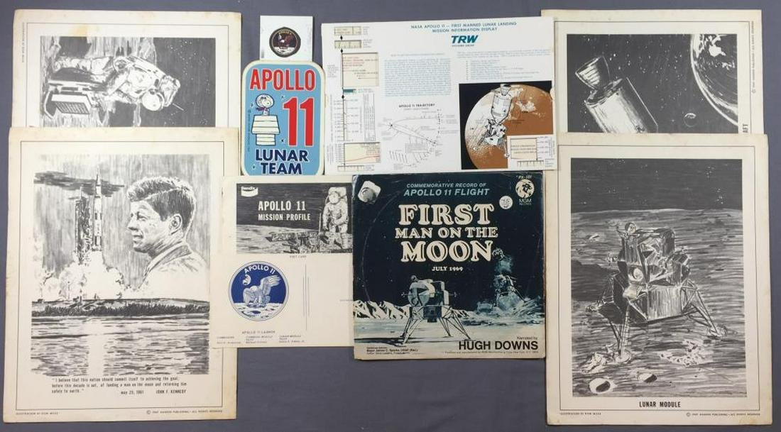 Apollo 11 Collection of Employee items