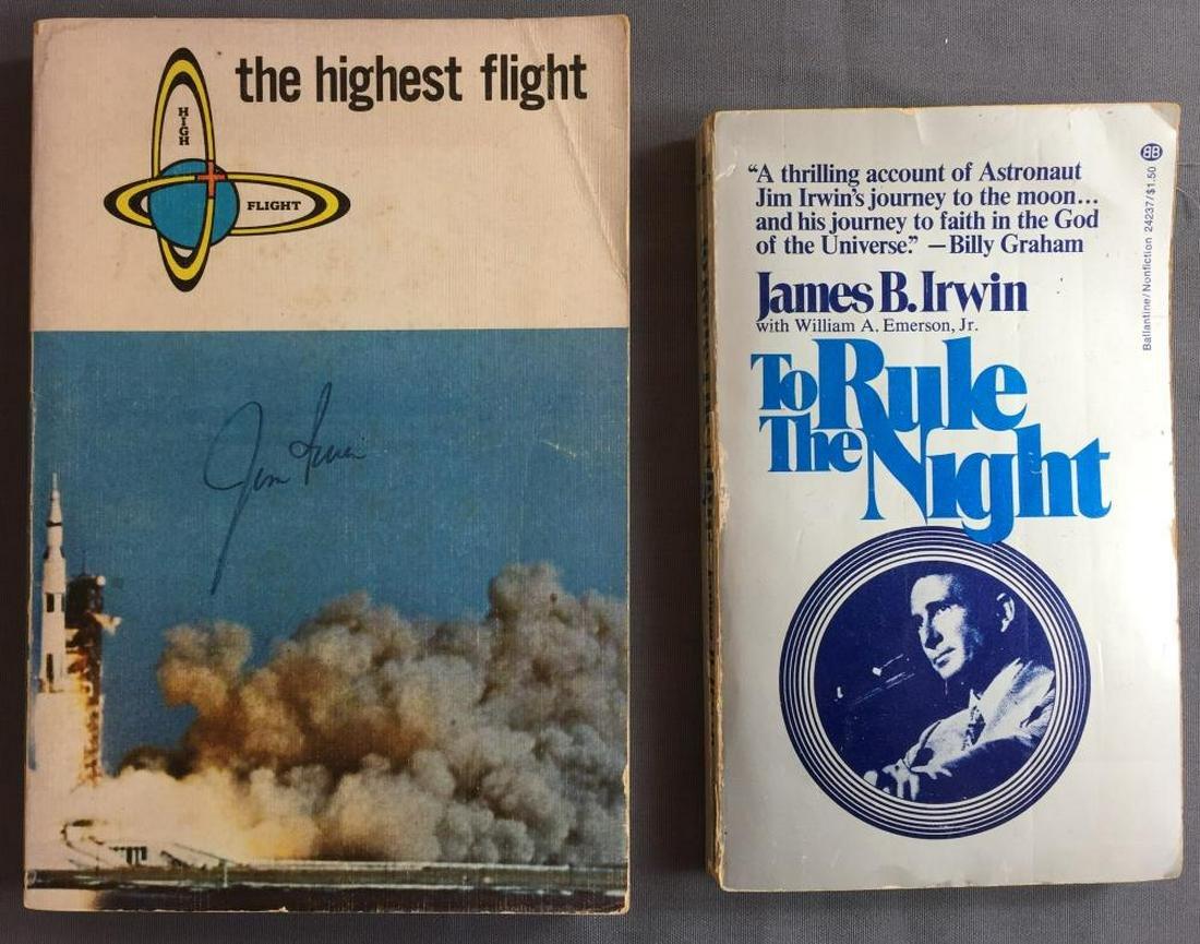James Irwin Signed books paperback version