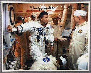 Fred Haise Apollo 13 LMP Spoon - Dec 13, 2014 | Lunar