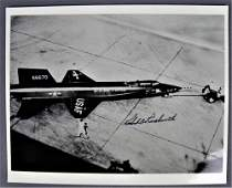 Robert Rushworth Signed Original X-15 Photograph