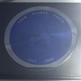"Apollo 11 ""Goodwill Message"" Lunar Disc Pre-flight made"