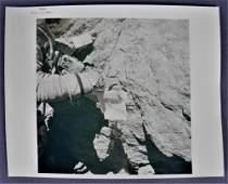 Apollo 16 Lunar Surface Specimen Collection Photograph