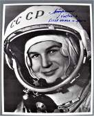 Valentina Tereshova 'First Woman in Space' Signed