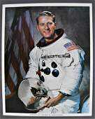 Apollo Astronaut Henry Hartsfield Signed Lithograph